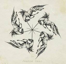 unicorns by Jeanne-Saar