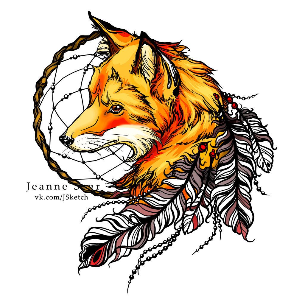 Fox By Jeanne Saar On DeviantArt