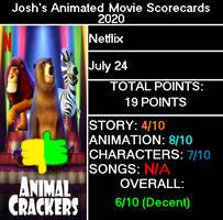 J.A.M.S 2020 - Animal Crackers