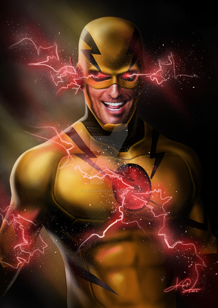 Reverse Flash Zoom Hunter Zolomon By KevinInsanR