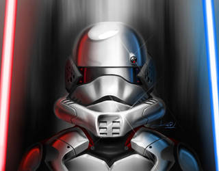 Storm Trooper alternative design by KevinInsanR