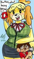 Isabelle's Smashing Debut! by AxelDK64