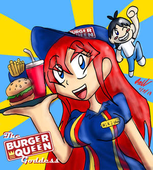Burger Queen Goddess Promo