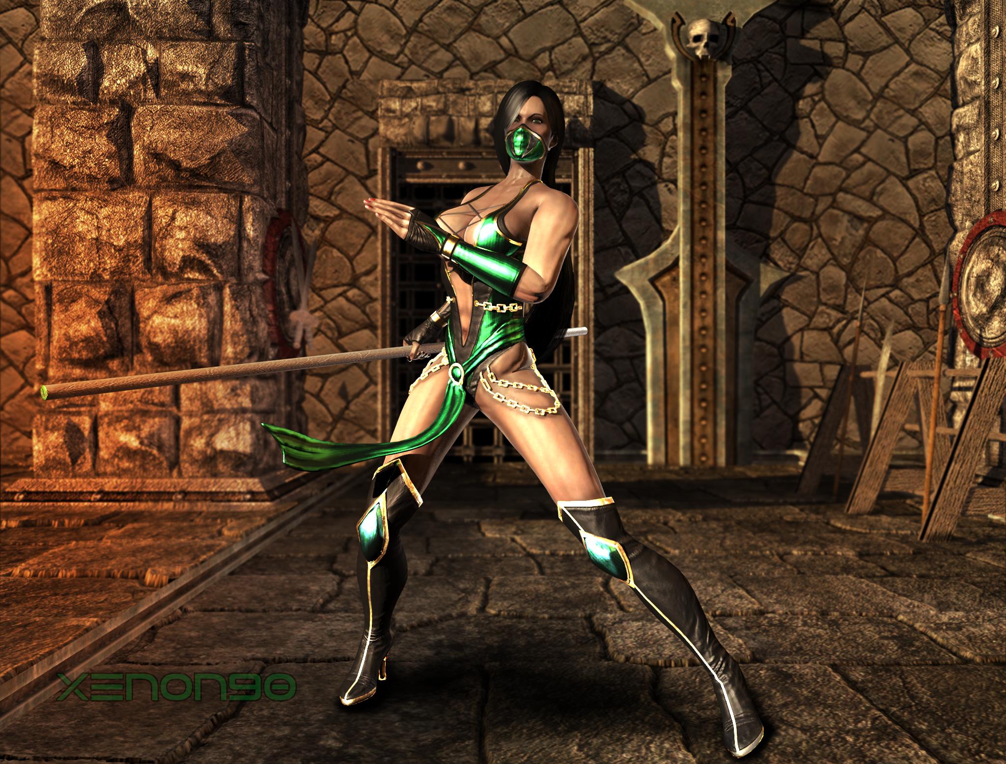Jade nude mk xxx clips