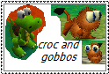 croc and gobbos by tagismyname