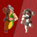 Ilena vs Bussaba. Part 5 by Tobbe-Totte