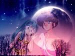 Akane Tendo and Lum