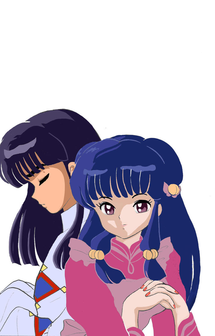Ranma 1/2: Shampoo and Mousse by soulfire524