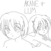 Akane and Lum's tears (ranma1/2 x urusei yatsura)