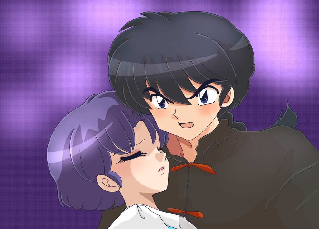 Ranma and Akane by soulfire524