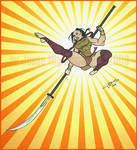 Gina Nackiomi- Kick of Fury