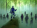 Dark O Fu and Kogasuma ninjas