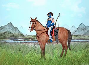 Valerie Fox- Horseback