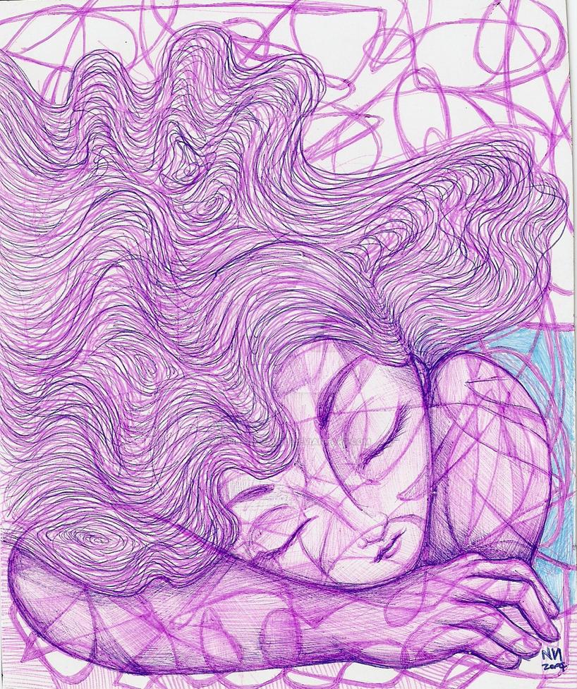 sleeping girl by NoeliaNavarro