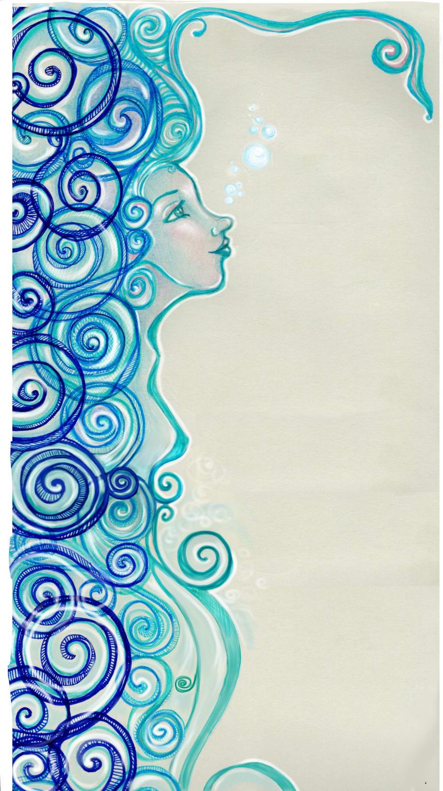 water girl by NoeliaNavarro