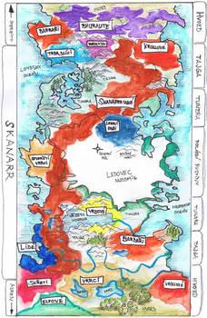 Map of Skanaerr