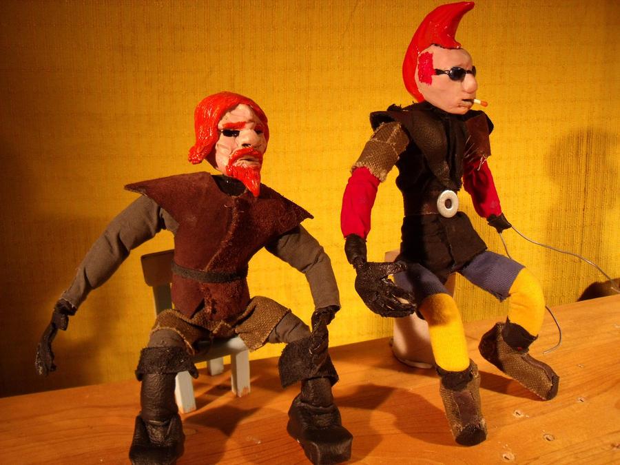 Hunter and Punk 2 by Skanaerrian
