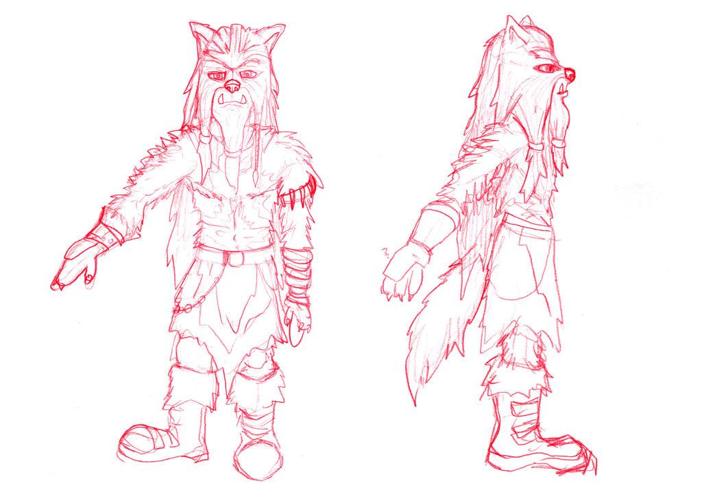 Maistog the Skanaerrian Chieftain by Skanaerrian