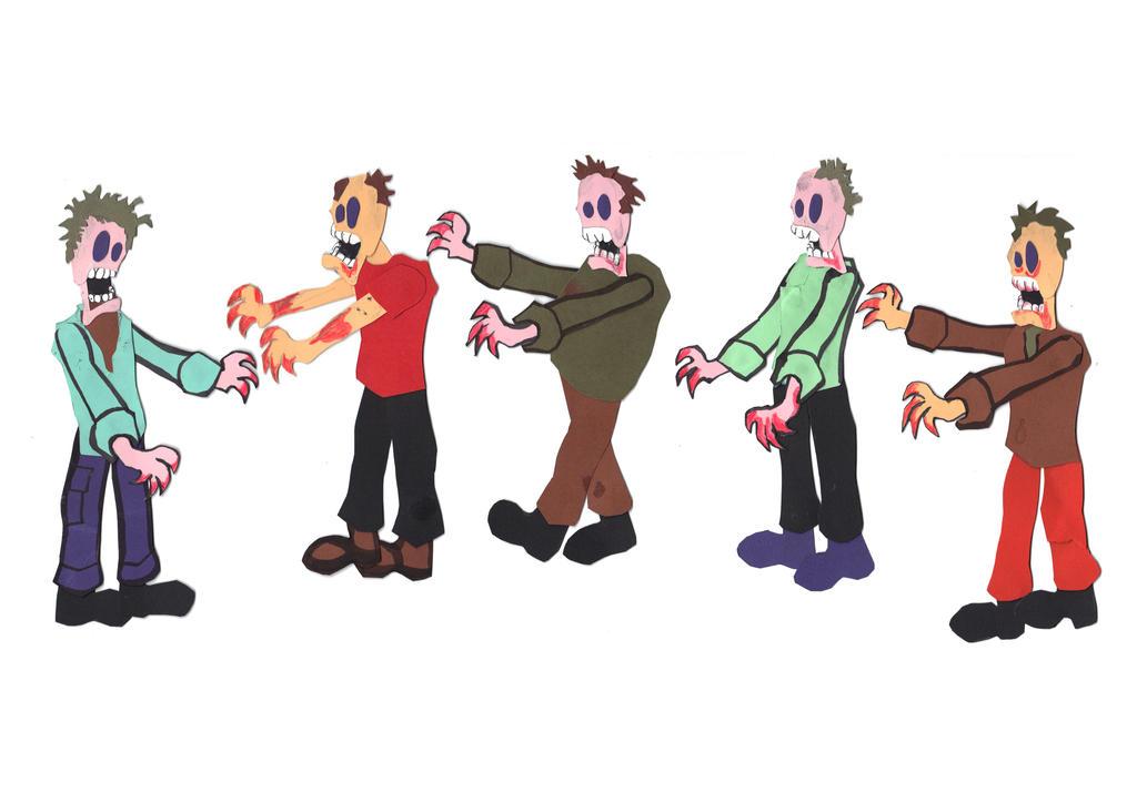 Zombies by Skanaerrian