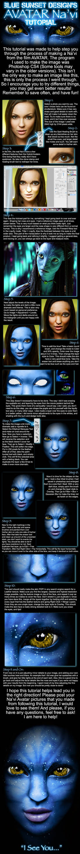 How to make an AVATAR Na'vi
