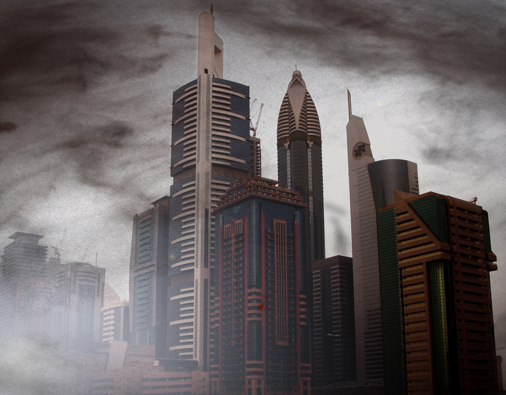 Futuristic City by RandomHero-Ryan