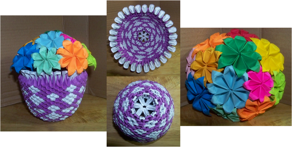 WATERPROOF Rainbow Origami Vase : 7 Steps (with Pictures ... | 514x1024