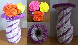 Small Spiral Vase