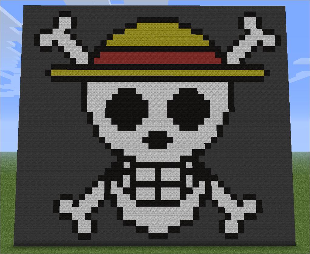 Minecraft Pirate Pixel Art