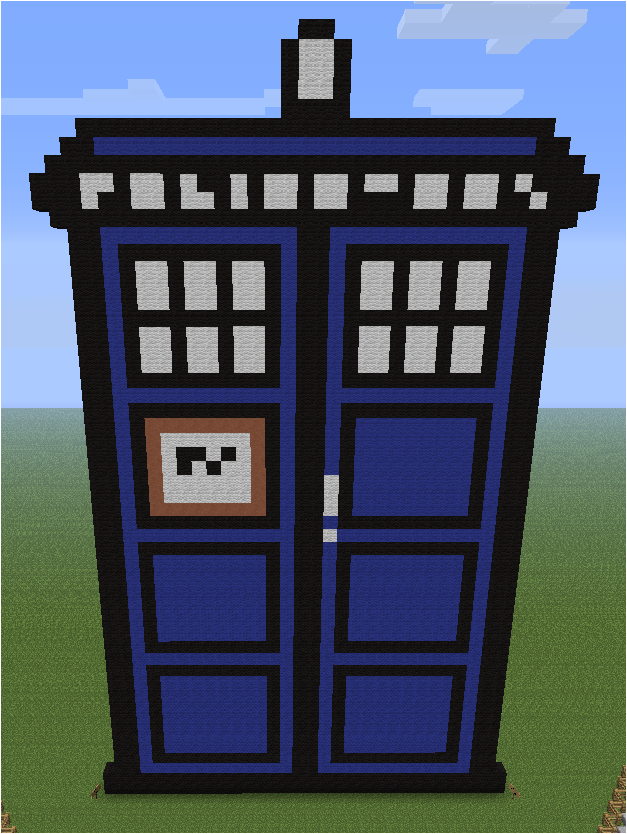 Minecraft Pixel Art Templates Doctor Who