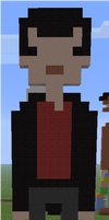 Minecraft Pixel Art Ninth Doctor