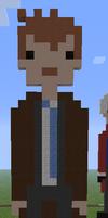 Minecraft Pixel Art Tenth Doctor