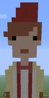 Minecraft Pixel Art Eleventh Doctor