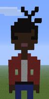 Minecraft PixelArt Doctor's Companion Martha