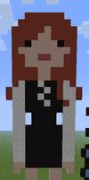 Minecraft Pixel Art Doctor Who Companion Amy