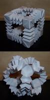 Origami Bouncy Ball