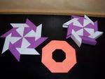 Origami Transforming Ninja Stars