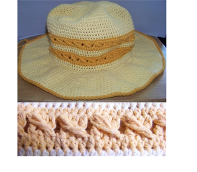 W.I.P Mother's Day Sun Hat