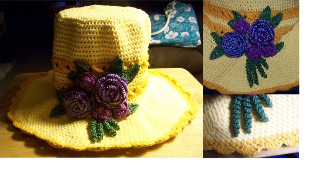 Mother's Day Sun Hat Present