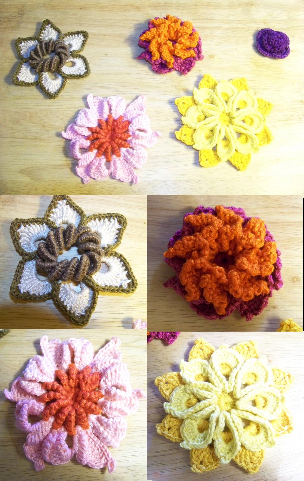 Crochet Flowers 1