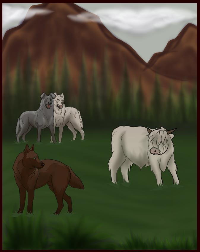 White Bison Tracking by CyBear-RedPanda