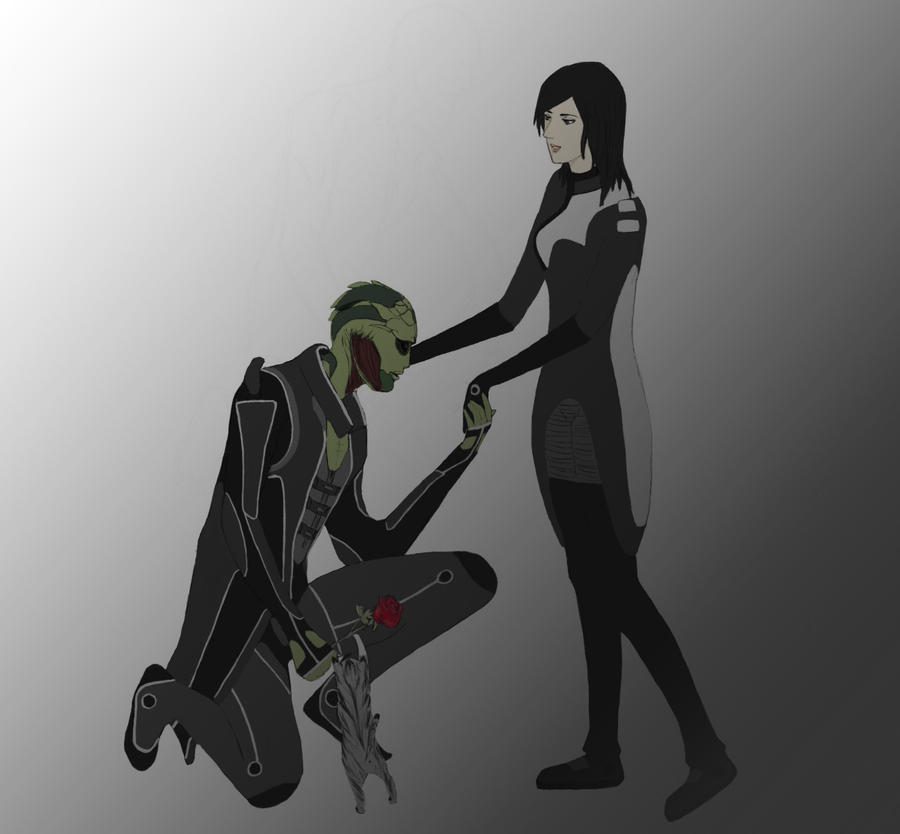 Mass Effect2: I love you by KuroSebastian