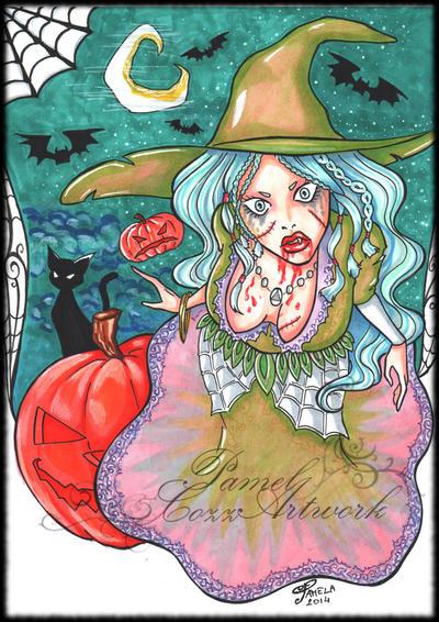 Witch by PammyArt