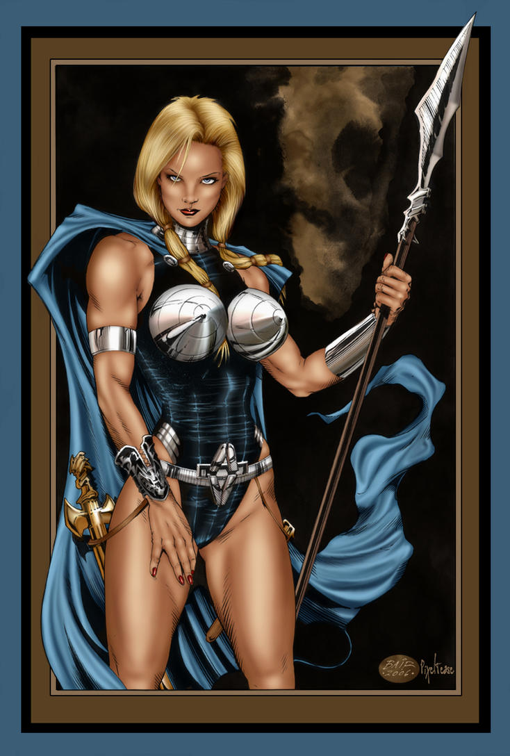 Valkyrie_color version by MichaelBair