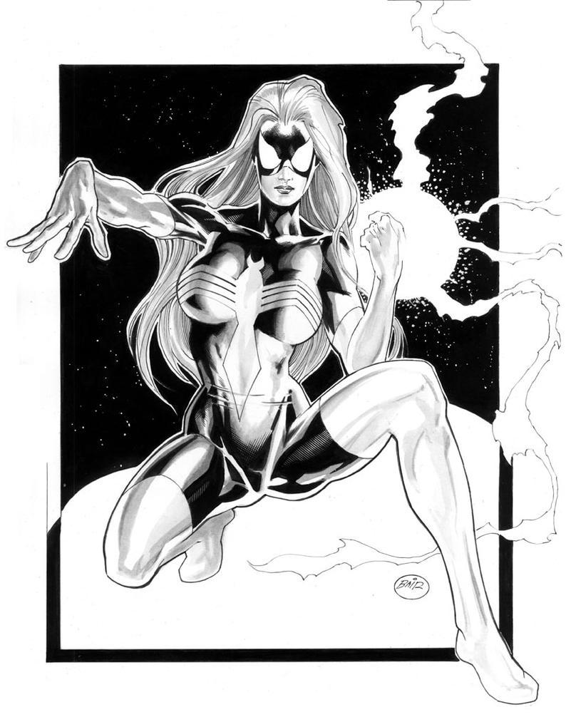 Spider-Woman II by Michael Bai by MichaelBair
