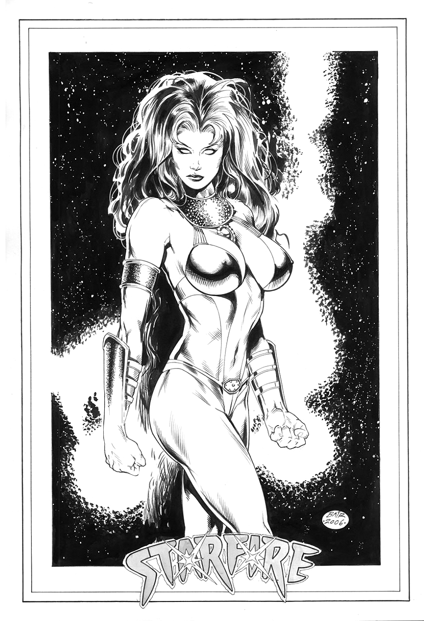 StarFire, of the Teen Titans by MichaelBair