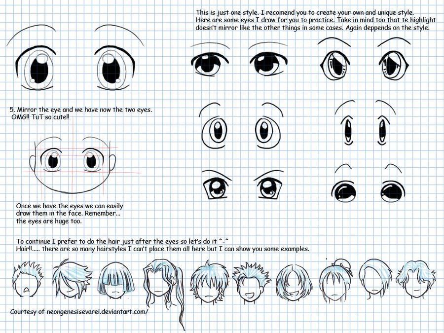 how to draw chibi part2b by LarienSnowpaw