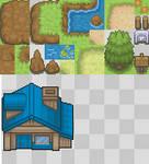 More tiles for the Tileset