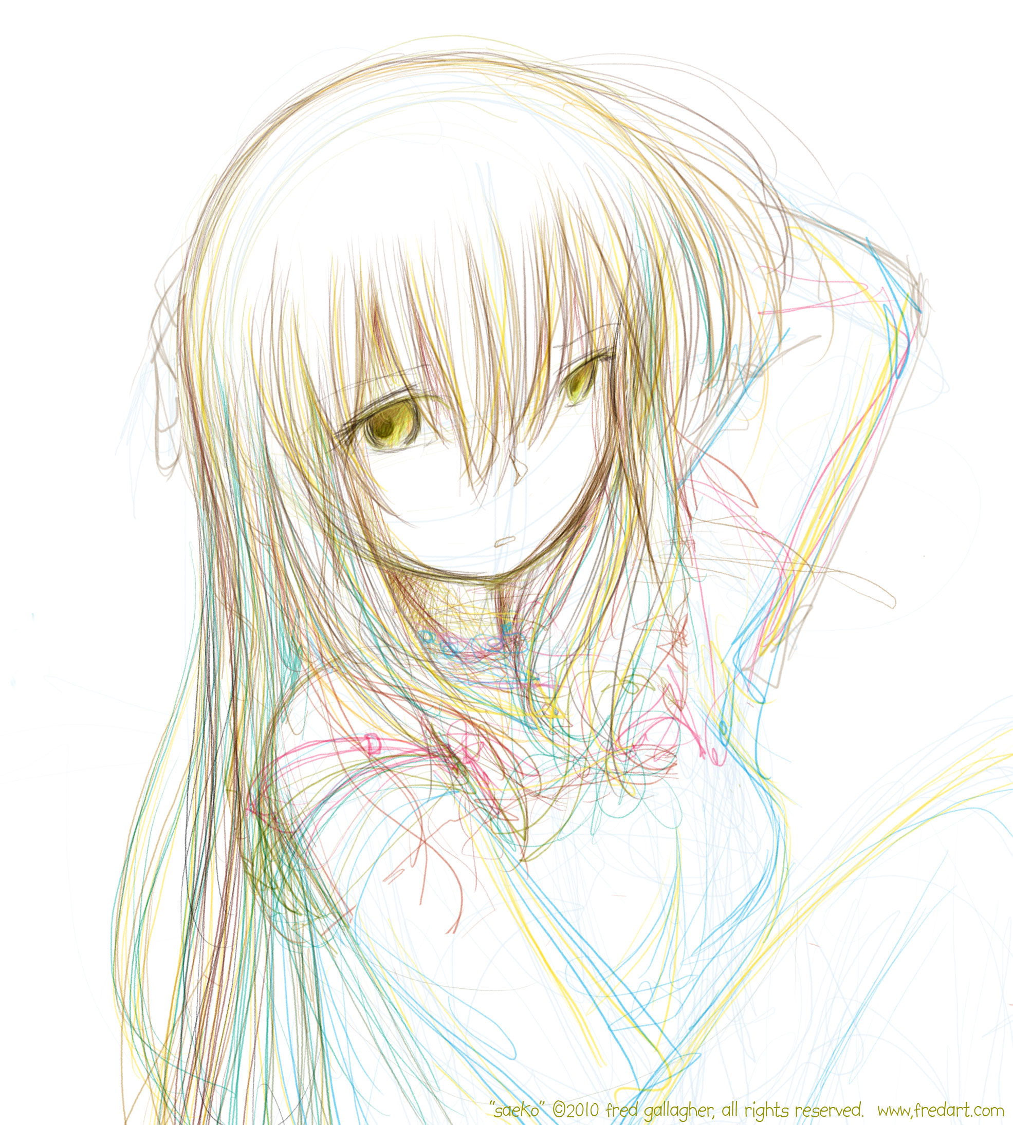 Saeko - sitback by fredrin