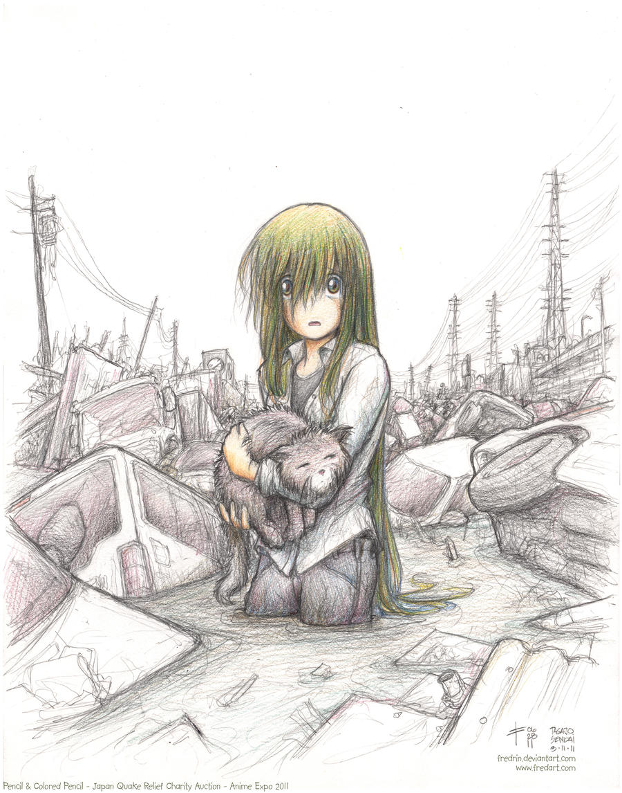 Saeko - Sendai Quake 2011