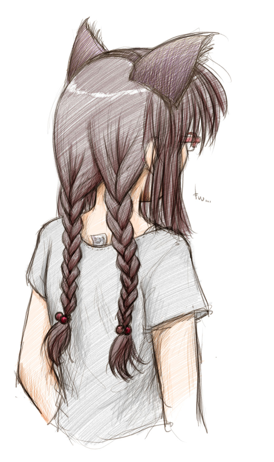 Miho Braiding By Fredrin On Deviantart